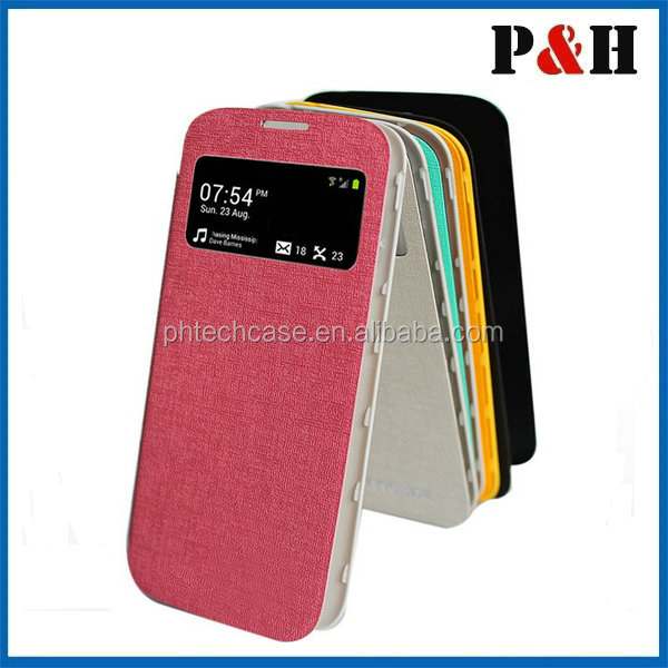 Fashion flip leather case for samsung s5 mobile phone case cell phone case