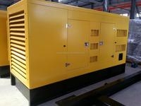 Water cooled engine diesel electric generator 200kw/250kva