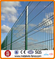PVC coated curved wire mesh netting