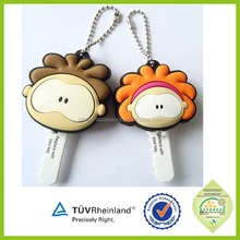 Promotional factory high quality cheap 3d keychains in bulk