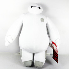 "Big Hero 6 Baymax Stuffed Plush Toys Soft Crystal Cotton Material High Quality Baby Toys 12""Plush Doll"
