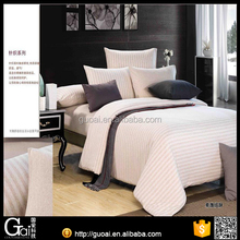 100% Natural colored cotton jersey knitted bedding sets manufacturers