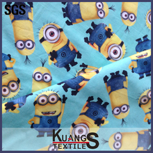 wholesale minion 100% cotton fabric