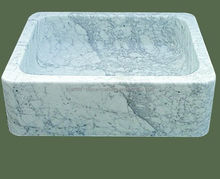 Nature marble sinks stone outdoor wash basin SS12