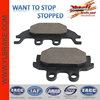 brake pad for kymco spare parts;ATV brake pad for KYMCO 4x4;direct factory offer good quality motorcycle brake pads for TGB atv