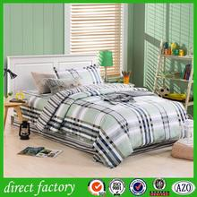Brand new plain white 100% cotton bed sheet with great price
