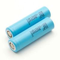 10pcs Original INR18650-25R 18650 3.6V 2500mAh Rechargeable Battery Li-ion battery discharge 30A Model Aircraft Battery