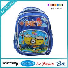 Guangzhou factory kids cartoon picture of school bag, school book bag, ergonomic school bag