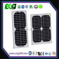 Small solar panel 5W 10W 20W 30W 100W mono solar energy panel
