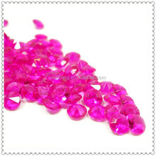 Artificial Scatter Acrylic Gems Confetti For Wedding Luxury Decoration
