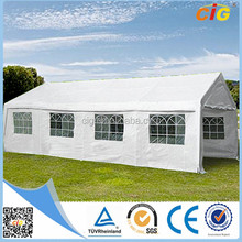 4mX8m UV Resistant White Canopied Outdoor Event Tent