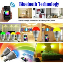 LED Smart bulb 7.5w RGBW WiFi LED Bulb Light Lamp for iOS Android