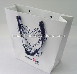 2015 factory directly cheap high quality paper bag, packaging box
