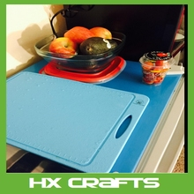 Durable, nonslip, heat resistant board for chopping & cutting premium silicone cutting board
