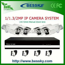Economic Home 4CH 1080P wireless speaker system, CCTV system secuirty