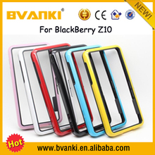 Hot Selling TPU For Blackberry Z10 Phone Case,New Come Lightweight Bumper Case For Blackberry Z10,Bumper Cover Case For Z10