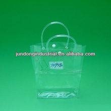 #c1045 clear PVC bag with handle for promotion