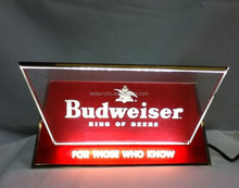 Budweiser LED Neon Acrylic Sign Bar Pub Beer