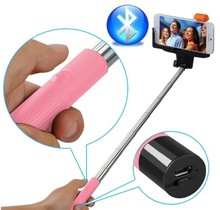 New Cheaper Extendable Wireless Mobile Phone Monopod Selfie Stick Holder+Bluetooth Remote Shutter for Iphone 6 Plus 6 Samsung