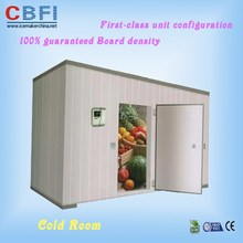 with good quality panels PU Cold Room meet shrimp beef