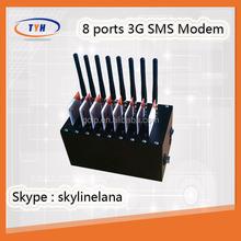 8 ports bulk sms modem with high speed 3g network 3g modem
