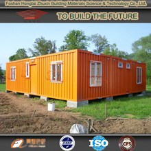 Luxury prefabricated container homes