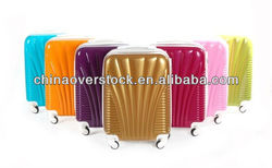 3PCS ABS PC Travel Suitcase ABS PC Spinner Luggage