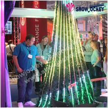 2015 hot sale new fashion giant light up christmas tree pvc led christmas tree for sale