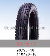 Factory supply top quality motorcycle inner tube and motorcycle tire 110/90-16
