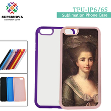 Custom Design Silicone Mobile Phone Case for iPhone 6S