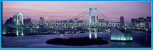 wall art with led lights canvas print lighted city pictures