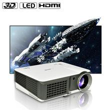 2600 lumens USB HDMI led Projector 1080p full HD 3D projetor video Proyector beamer
