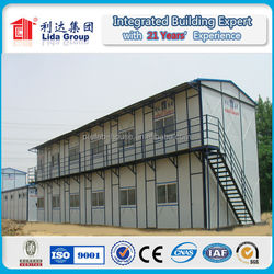 fast design steel cement refractory cement made in china prefab house