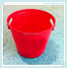 2016 Hot Sale Factory Manufacturing shoe-shaped gold ingot ps acrylic ice bucket made in China