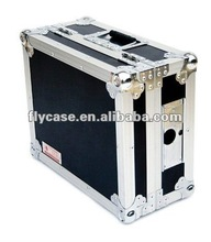 Custom made tool equipment aluminum flight case with wheels with trade fair