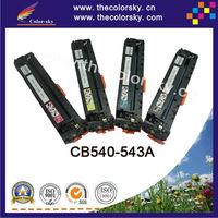 (CS-H540-543) Compatible toner cartridge for HP 125a cb540a cm1312n cm1312nf cp1210 cp1217 cp1510 cp1514n (2200/1400k pages)