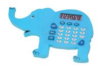 creative funny elephant 8 digits mini pocket calculator