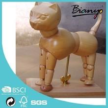 Wholesale 6 inch Artist Wood Animal Manufacturer