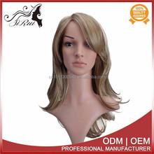 100% Japan kanekalon curly wig customized colors human purple wig