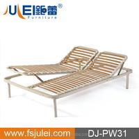 Double Manual Adjustable Slat Bed