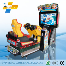 2015 Guangdong 4D Sonic Racing Game Type Arcade Video Games Machine, Car Ride Games for Adults