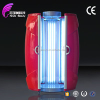 Good price!!!Portable infrared tanning bed/solarium tanning sunbed with 48pcs UV lamps