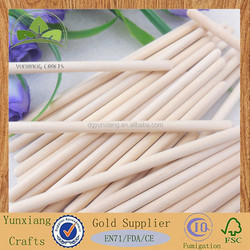 birch wood custom round wood ice cream round sticks