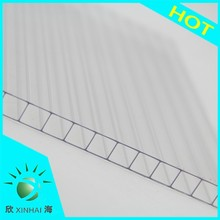 high quality polycarbonate 4mm uv hollow sheet flexible plastic sheet lexan roll sheet