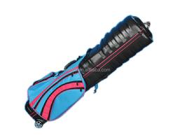 High quality waterproof plastic golf trolley case/travel golf bag