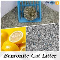 Cat products irregular clumping bentonite pet fine litter