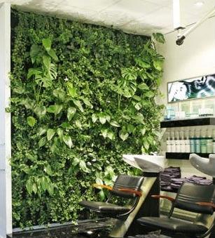 Plante artificielle mur en haute qualit avec la basse for Plante haute interieur