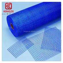 heat insulation 145g blue fiberglass mesh netting used as building