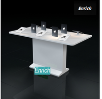 ENRICH cell phone, laptop,ipad store floor stand display showcase