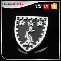 Factory direct sale custom metal vw car badge emblems